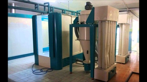 Multi Functional Powder Coating Booth