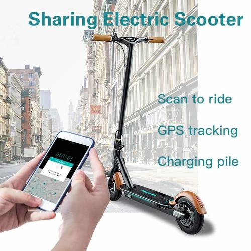 Sharing Electric Scooter Lock for Scan QR Code Unlocked Scooter with