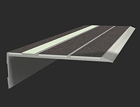 Aluminium Photoluminescent Stair Treads