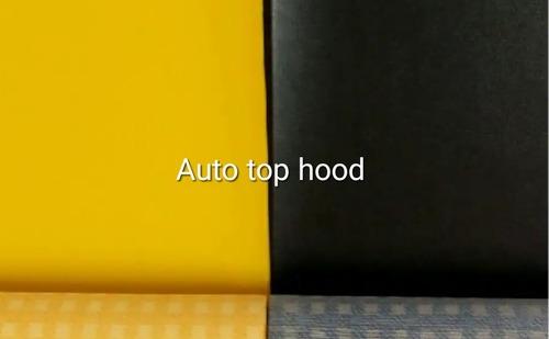 Three Wheeler Auto Top Hood Rexine Leather