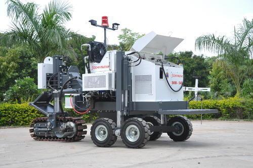 Heavy Duty Kerb Paver Machine