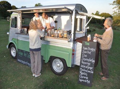 Tea Stall Van