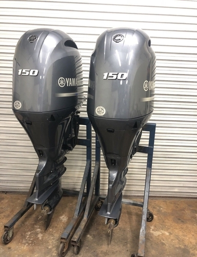 Used Twin Pair Yamaha 150 Hp 4 Stroke Outboard Motor At Best Price In New York New York Boathouse Marine Sales