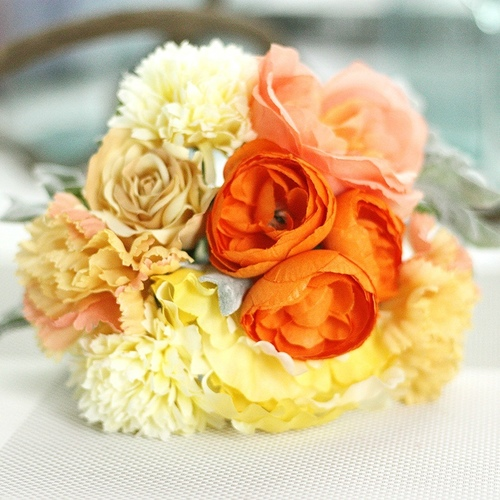 Artificial Flowers Korean Style Handmade Bouquet