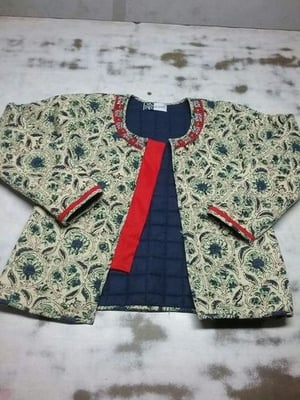 Hand Block Printed Quilted Jackets