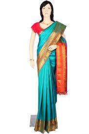 Plain Fancy Pure Silk Saree