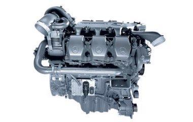 Mercedes Car Engine