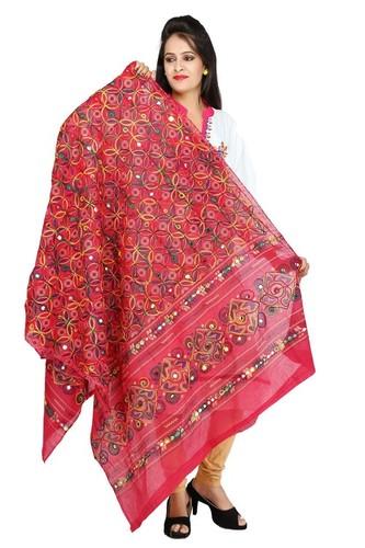 3d1bbc2c89df6a Banjara India Women's Dupion Silk Aari Embroidered Short Sleeves Kutchi  Blouse-Black in Ahmedabad, Gujarat - Banjara India