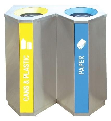 Tri Duo Recycle Bin