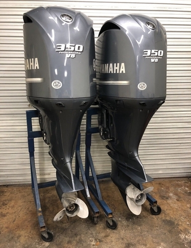 Used Twin Pair 2018 Yamaha 350 HP 4 Stroke Outboard Motors