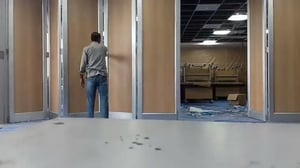 Movable Folding Acoustic Wall