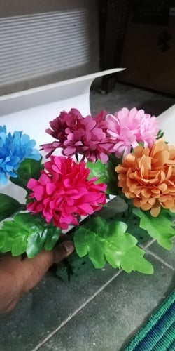Paper Made Artificial Flowers