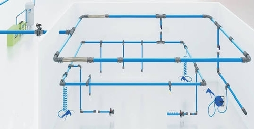 Industrial Compressed Air Piping System
