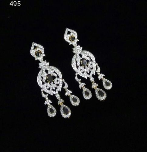 Fancy American Diamond Earrings
