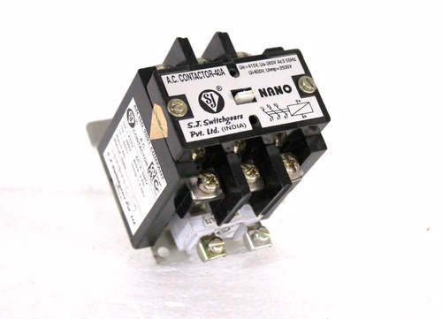 M H D 3 40A AC Contactor 4 Pole With ISI Mark at Best Price