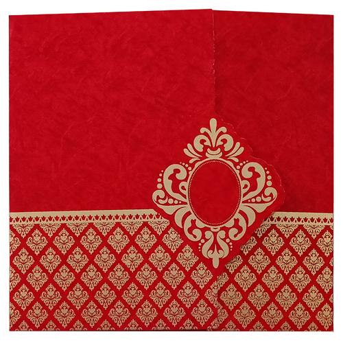 Designer Wedding Invitation Card 7014