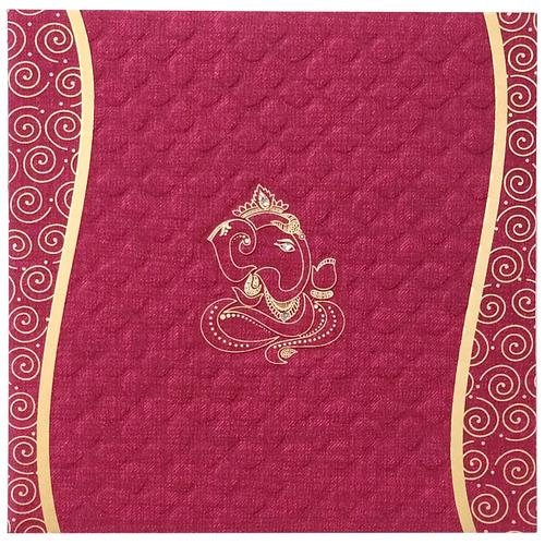 Hindu Wedding Invitation Card 7011 Metro Card Agency 1727 1