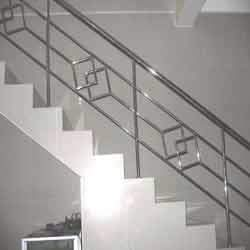 Beautiful SS Staircase Railing at Best Price in Agra ...