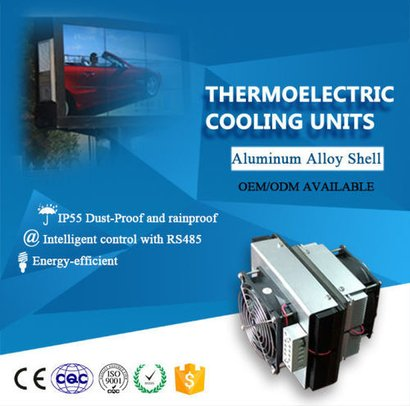 Ip55 Ourdoor Thermoelectric Cooling Units Certifications: Iso9001