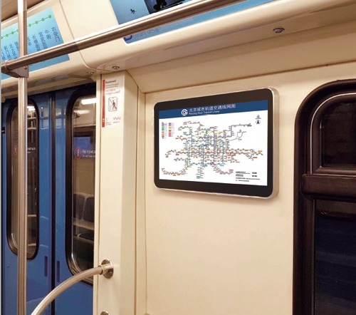Reliable Transportation Lcd Display