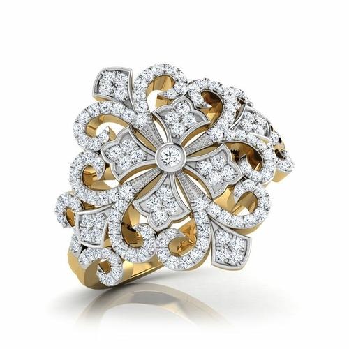 Designer Gold Diamond Rings