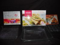Plastic Sweet Packing Trays