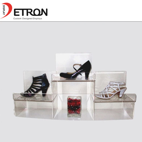 Retail Acrylic Shoes Display Stand Certifications: Iso9001