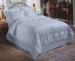 Plain White Organic Bed Linen Size: Full