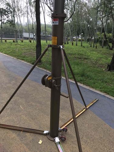 10m Crank Telescopic Mast