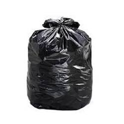 Black and Blue LD Garbage Bags