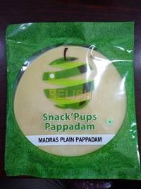 Madras Plain Papadam