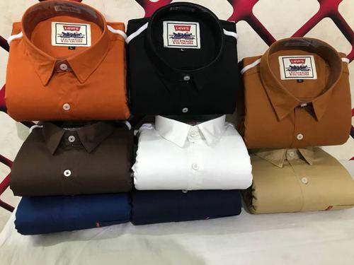 Designer Mens Cotton Shirts