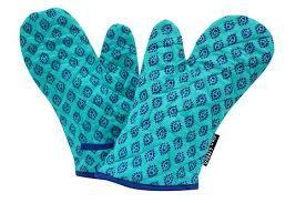 Sky Blue Kitchen Gloves