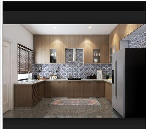 U Shaped Modular Kitchen Designing Service in 52-Sector, Noida - JSM ...