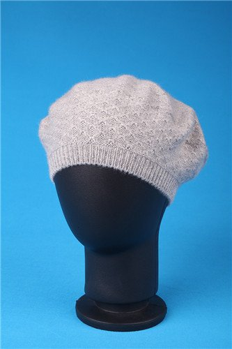 Fashionable Colorful Knitted Handmade Inlaid Brocade Jacquard Beret