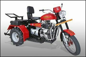 Red Color Bullet Tractor