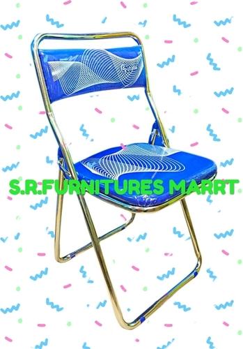 Fancy Nickel Coated Folding Chair