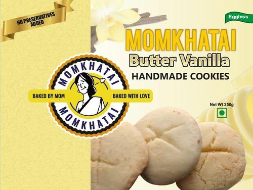 Butter Vanilla Handmade Cookies