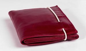 Mens Red Color Leather Wallet