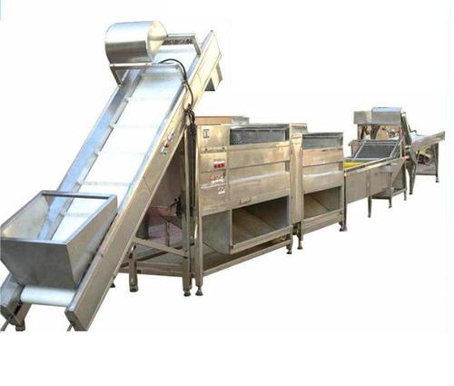 Automatic Potato Wafer Plant 5 Kw