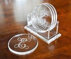 Decorative Acrylic Tea Coaster