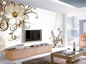 Easy to Install 3D Wallpaper