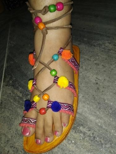 Fancy Ladies Leather Sandals