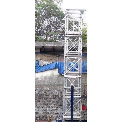 Aluminum Telescopic Tower Ladder
