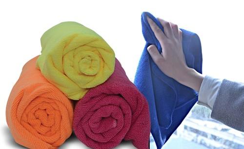 Smooth Texture Microfiber Towel