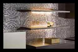 Silver Decorative Steel Wall Tiles