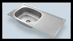Silver Highly Effective Steel Sink