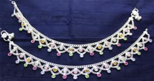 Anklets Silver Fashion Jewelry