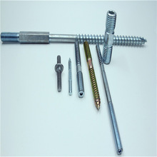 Double Head Carbon Steel Wooded Thread Hanger Bolt