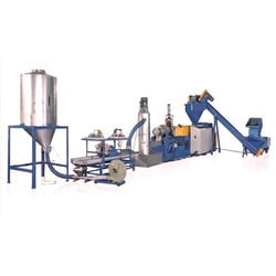 Automatic Plastic Recycling Plant